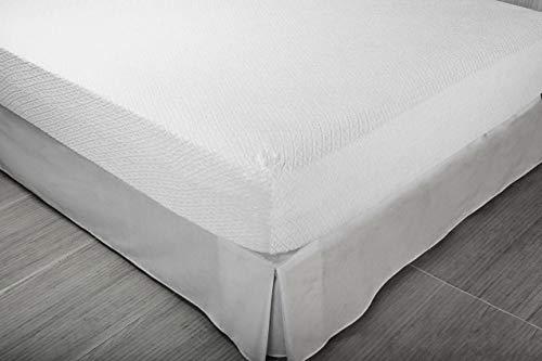 Pikolin Home - Protector de colchón rizo, antialérgico, antiácaros, antibacterias y antimoho, 90 x 190/200 cm, cama 90 (Todas las medidas): Amazon.es: Hogar