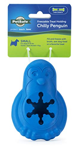 PetSafe Freezable Treat Holding Chilly Penguin Dog