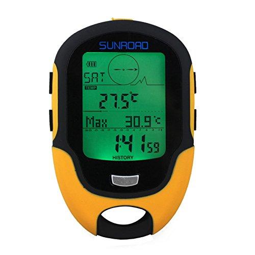 JUOKK Waterproof FR500 Multifunction LCD Digital Altimeter Barometer Compass Drop Shipping