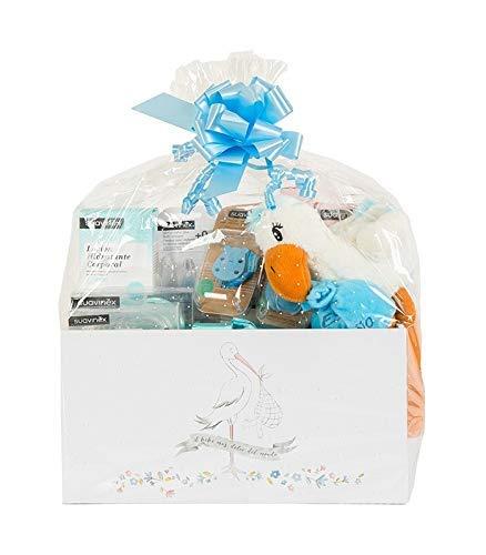 Suavinex Canastilla Baby Shower para Beb/é y Mam/á Azul