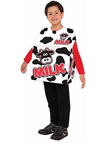 Funny Baby Food Costumes (Forum Novelties Kids Milk Carton Costume, One Size)