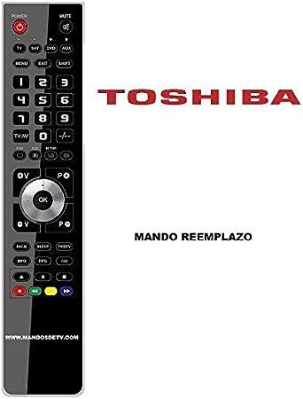 Mando TV Toshiba 32AV635D: Amazon.es: Electrónica
