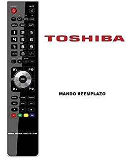 Mando a distancia de repuesto para Toshiba CT-90345: Amazon.es: Electrónica