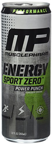 Muscle Pharm Energy Sport Drink, Punch, 12 Count