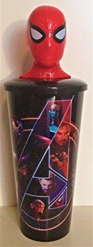 Marvel Comics: Avengers: Infinity War Movie Theater Exclusive 32 oz Cup With Topper Lid Spider-Man