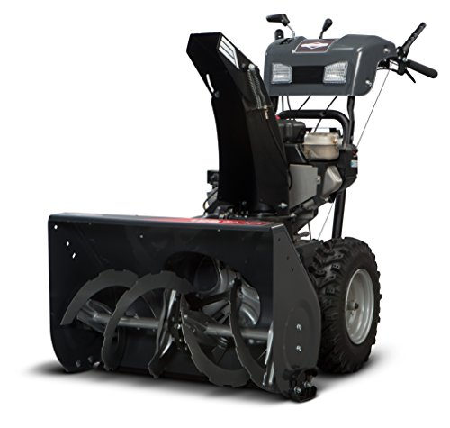 Best Briggs and Stratton 1696156 Dual-Stage Snow Thrower with 250cc Engine and Electric Start (online)