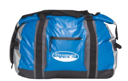 Stansport Waterproof Duffel Style Bag (Blue, Medium)