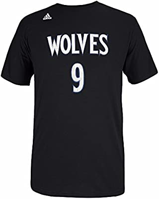 adidas Ricky Rubio NBA Minnesota Timberwolves Hombres Negro ...