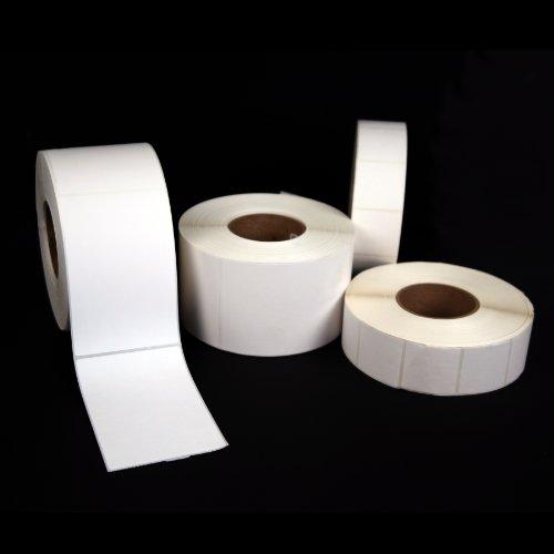 Zebra White Resin Ribbon - Thermal Transfer Labels, 4