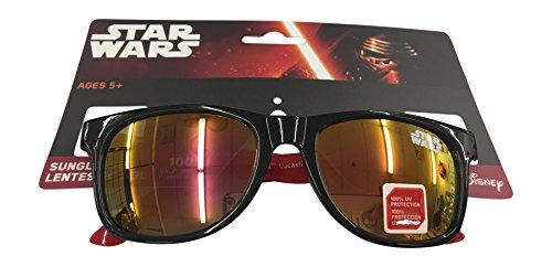 Star Wars Black Childrens Kids Boys Black Sunglasses - 100% UVA & UVB - Sunglasses With Yoda