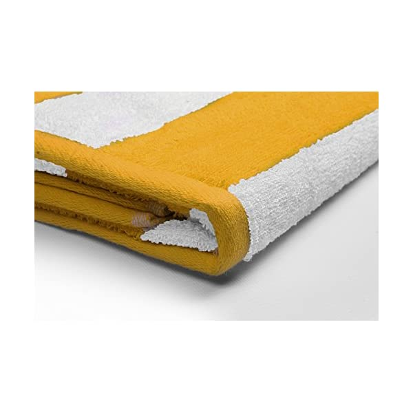 Utopia Towels - 4 Telo mare, Asciugamani da spiaggia, motivo a righe - 100% cotone (76 x 152 cm, Varieta) 2 spesavip