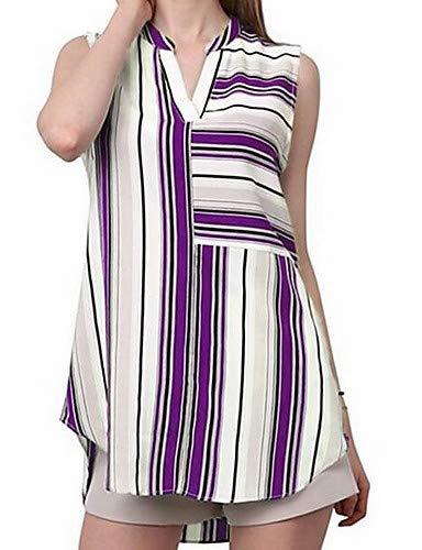 Unie Chemisier Blue Coton Femme YFLTZ en Couleur Ray XSd7FwqnxA