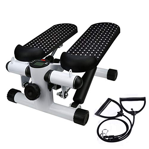Calories Mini Stepper - Wenini Mute Stepper, Office Household Gym Mute Stepper with Band, Health Fitness Hydraulic Mute Stepper Multi-Function Pedal Indoor Sports Stepper Legs, Ship from US