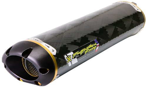 (Two Brothers Racing (005-1120407) Standard Series M-2 Carbon Fiber Canister Slip-On Exhaust System)