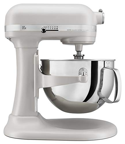 KitchenAid KP26M1XMH 6 Qt. Professional 600 Series Bowl-Lift Stand Mixer - Milkshake Color