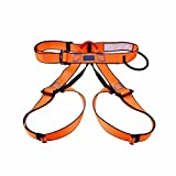 Orange Harness Seat Belts Outdoor Sitting Safety Belts Rock Climbing Rappelling Tool
