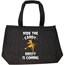 Hide The Candy Kristy Is Coming Halloween Gift - Tote Bag With Zip