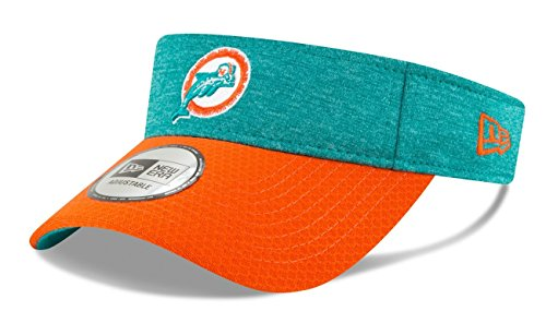 New Era Miami Dolphins NFL Historic 2018 Official Sideline Performance Visor by New Era