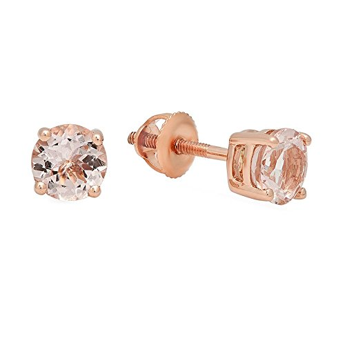 Gold Round Cut Solitaire - 7