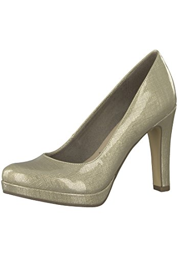 Tamaris 1-22426-29 Womens Court Shoes Beige pePGKyW1
