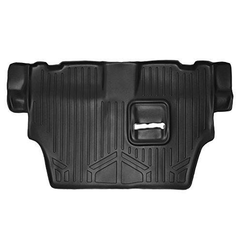SMARTLINER Floor Mats 3rd Row Liner Black for 2011-2018 Dodge Durango with 2nd Row Bench ()