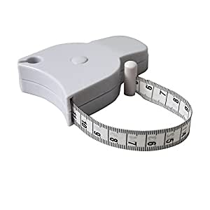 Vest 2014 Body Measuring Tape - Auto Retract - Waist, Chest, Arms, Legs ;TM79F-32M UGBA45330