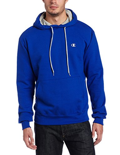 Champion Men's Pullover Eco Fleece Hoodie, Surf The Web, X-Large