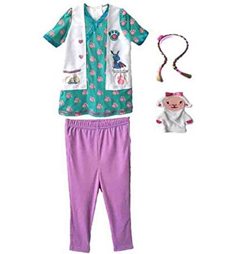 Girl Halloween Party c Doctor Nurse Costume Coat Pink Princess Dress,Style 3,M]()