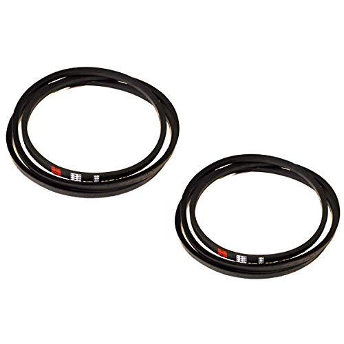 2PK Mule Drive Belt for Exmark 60