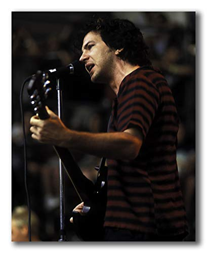 Eddie Vedder Of Pearl Jam Performing At The Tibetan Freedom Concert At The Robert F Kennedy Stadium - 8