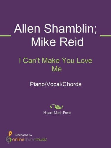 I Can\'t Make You Love Me - Kindle edition by Allen Shamblin, Bonnie ...