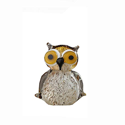 MSchunou Stylish Personality Creative owl Shape Decoration, Children's Room Decorations, Cute owl Living Room Wine Cabinet TV Cabinet Decoration, Blend with Your Decoration -