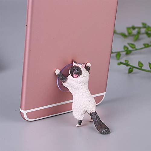 Compra PETUNIA Universal Cute Cat Support Resin Soporte para ...