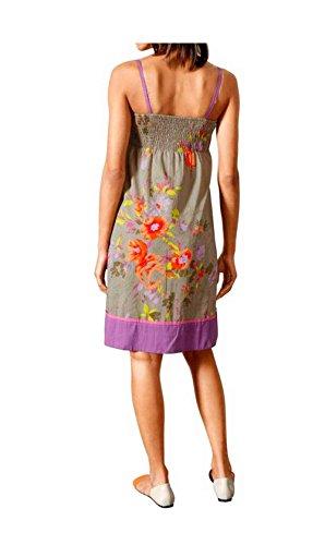 Linea Tesini Damen-Kleid Druckkleid Mehrfarbig Größe 36 9fYbw7