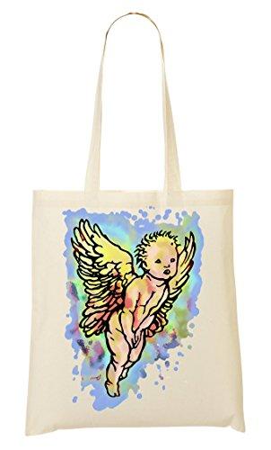 De Baby CP Beautiful Cartoon La Compra Bolso Angel Mano De Bolsa Flying qBqCEwz