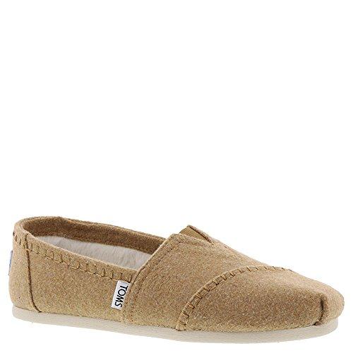 - TOMS Alpargata Shearling Shoe - Women's Toffee Wool/Faux Shearling, 8.0