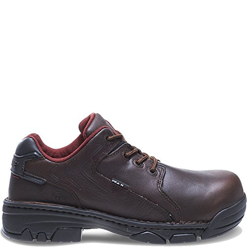 Wolverine Men's Falcon Oxford Safety Shoe,Brown,9 XW (Wolverine Oxford Shoe)