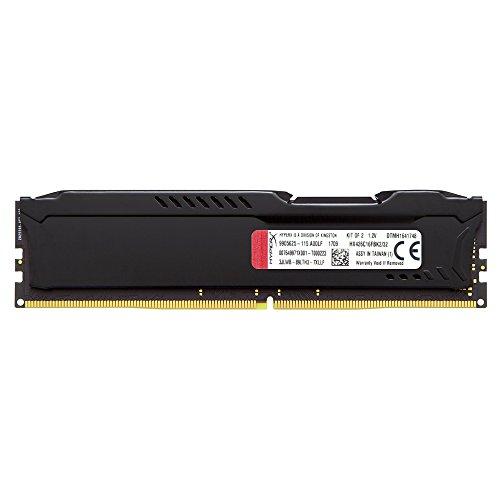 Kingston Technology HyperX Fury Black 32GB 2666MHz DDR4 CL16 DIMM Kit of 2 (HX426C16FBK2 / 32) للبيع
