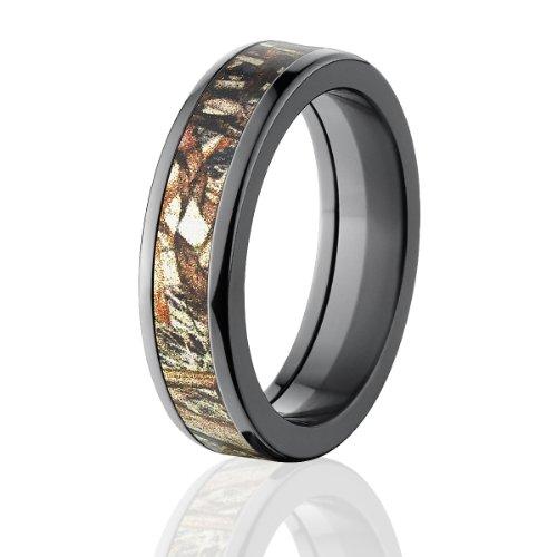 (Duck Blind Camo Rings, Mossy Oak Wedding Bands, Wedding Rings)