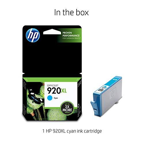 Buy hp 920 xl cyan genuine