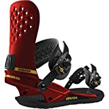 Union Strata Snowboard Bindings Red Mens Sz L (10+)