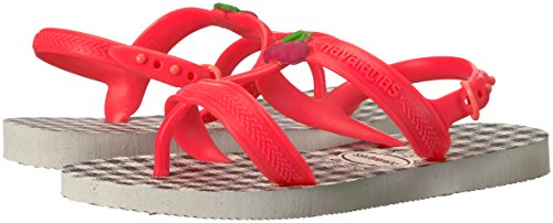 Pictures of Havaianas Kids Joy Spring Sandal White/Coral 4