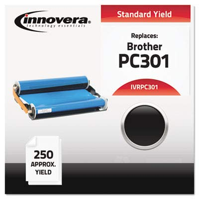 - Innovera PC301 Remanufactured PC301 Thermal Transfer, 250 Page-Yield, Black Toner