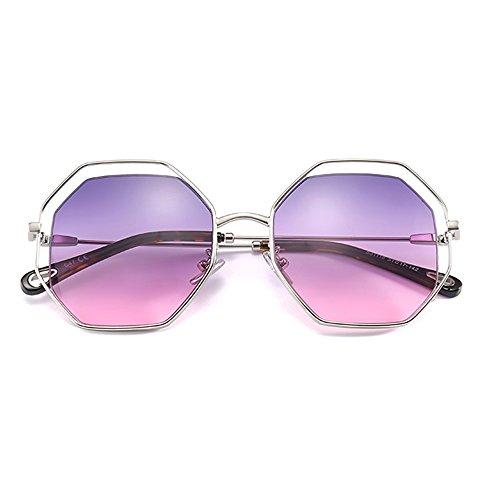 polarizadas personalidades marco contra de conducción Gafas viajes gafas libre Gafas ZHIRONG UV protección de B aire moda B Color sol grande de de la al solar 1BtB6nx