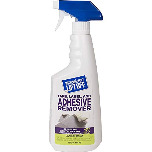 Motsenbocker's Lift Off Tape, Label, and Adhesive Remover #2, 22oz, Spray Bottle, 40701