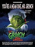 You're a Mean One, Mr. Grinch (From Dr. Seuss' How the Grinch Stole Christmas) (Piano/Vocal/Chords, SHEET MUSIC)