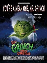 Mean One Mr Grinch Lyrics (You're a Mean One, Mr. Grinch (From Dr. Seuss' How the Grinch Stole Christmas) (Piano/Vocal/Chords, SHEET MUSIC))
