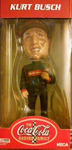 Kurt Busch Bobblehead Coca-Cola Racing #45 Nascar Winston Cup Head Knocker