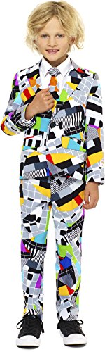Boys 'Testival' Party Suit and Tie by OppoSuits, Size 6 - Retro Space Suit Costume