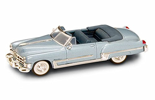 1949 Cadillac Coupe de Ville Convertible, Blue - Yatming 94223 - 1/43 Scale Diecast Model Toy Car